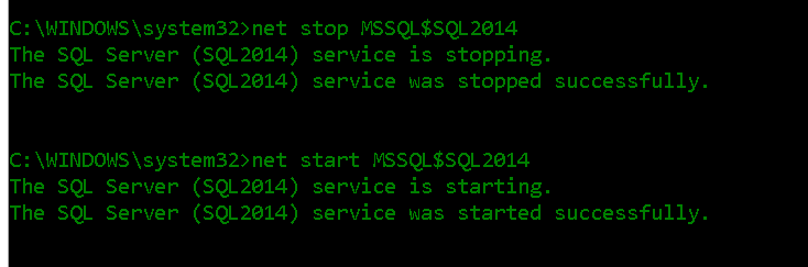 SQL Server wont start as it could not create tempdb